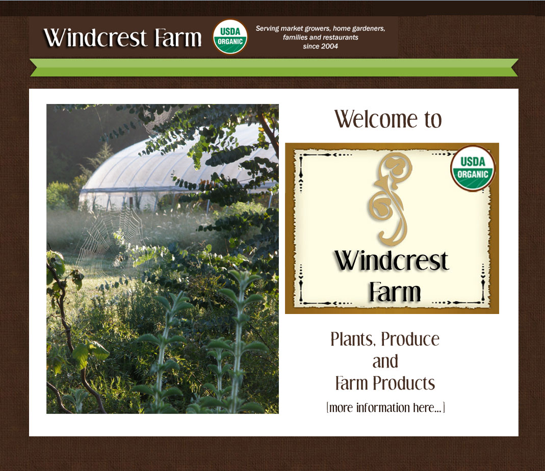 Welcome to Windcrest Farm